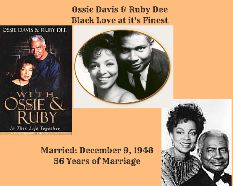 Ossie Davis & Ruby DeeBlack Love at it's